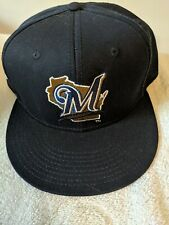 Milwaukee brewers hat adjustable new without tags