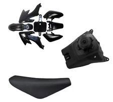 CRF50 Black Plastics + Fuel Tank + Seat Pit Dirt Bike THUMPSTAR 70/90/110/125CC