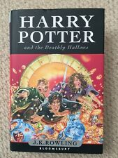 Harry Potter and the Deathly Hallows HB Book 1st Edition 1st Printing Bloomsbury