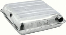 1955-56 Chevrolet Pass Cars Fuel Tank 16 Gallon Round Corners  Stainless Steel