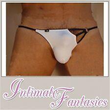 White Sexy Mens Thong Underwear Valentines Novelty Present Joke Stripper