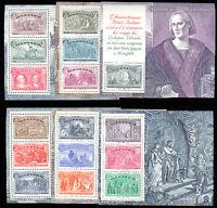 1992 World Columbian Expo 6 Italy Souvenir Sheets Mint NH Scott 1883-88