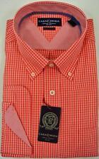Casa Moda Klassische Herrenhemden im Button-Down-Kragen-Stil mit Sportmanschette-Ärmelart