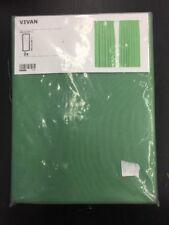 IKEA Vivan Curtain Green 145cm X 250cm