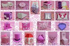 Brother ScanNCut Wedding favour box templates CD1006