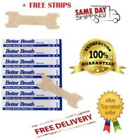 Nasal Strips - Breathe Right Better Easy *Snoring* + Free Strips -
