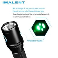 IMALENT DM70 LED Handhold Tactical Flashlight Thunder Tail Upside Outdoor Torch