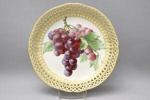 KPM Fruit Bowl Breakthrough Decor With Früchtemalerei&gold (42-0419)
