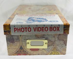 New, Sealed Pioneer Photo Albums, Photo & Video Storage Box, Holds 1,100 Photos.