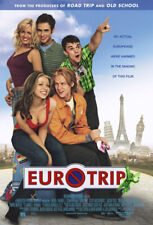 EURO TRIP MOVIE POSTER 2 Sided ORIGINAL 27x40 MICHELLE TRACHTENBERG JACOB PITTS