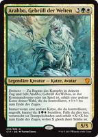 Arahbo, Gebrüll der Welten (Arahbo, Roar of the World) Commander 2017 Magic