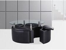 Patio Round Contemporary Coffee Tables