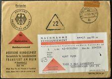 Germania 1964 nachnahme Remboursement, contanti alla consegna Copertura #C55939