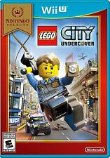 LEGO City Undercover (Nintendo Wii U) BRAND NEW / Nintendo Selects