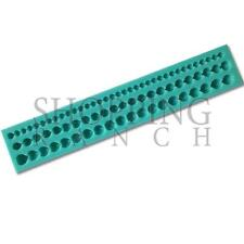 Bead Strip Silicone Mould Wedding Pearl Ball Edging Decoration Mold