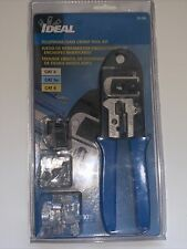 Ideal Telephonedata Crimp Tool Kit Broken Package