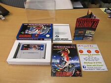 SNES Super Nintendo, Ninja Warriors, The New Generation, embalaje original-Top