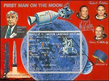Yemen 1969 Apollo 11/Moon Lander/Capsule/Astronauts/Space/People 1v m/s (s4003h)