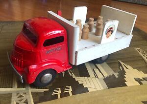 1/16 50s Smith Miller Smitty Toy GMC COE Arden Milk Delivery Truck Pressed Steel