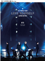 BTS WORLD TOUR 'LOVE YOURSELF' JAPAN  Blu-ray  First Limited Edition