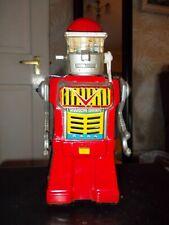yonazawa 1960 battery operated tin talking robot .