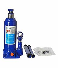 LEO 5 Ton Hydraulic Bottle Jack (Standard for All Vehicles) Blue/Red