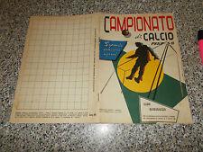 ALBUM CALCIATORI CAMPIONATO DI CALCIO 1957 1958 ED.SPORT NAPOLI CON 18 FIGURINE