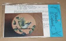 "Karen Hubbard ""Ruby Crowned Kinglet"" Bird on Branch Tole Painting Pattern Pack"