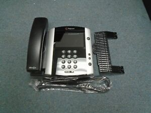 Polycom VVX 600 2201-44600-019 VOIP IP SKYPE Color Display Telephone #B STK