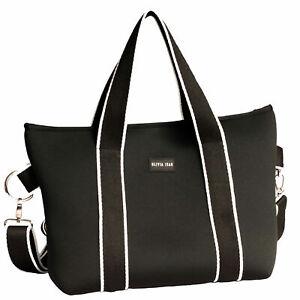 FREE POST BRAND NEW Stylish NEW Neoprene Tote Bag Active Wear
