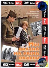 Muj bracha ma prima brachu (My Brother Has a Cute Brother) DVD Czech comedy 1975