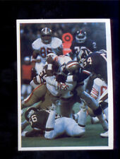 1986 Jeno's Pizza New York Giants Card LAWRENCE TAYLOR WENDELL TYLER 49ers