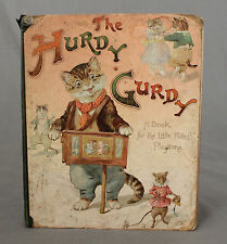 Victorian Children's Book The Herdy Gerdy Printed in Bavaria London Ernest Niste