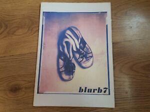 """Blur,""""Blurb 7"""",1997 Fan Club Magazine With Insert."""