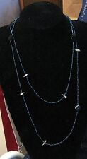 Lovely single string mini beaded necklace with larger feature beads