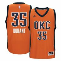 OKC Thunder Kevin Durant Retro ADIDAS Climatecool Sunset Men's Swingman Jersey