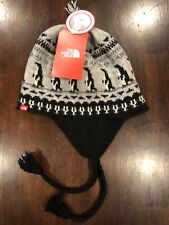 New Women's The North Face Expedition Penguin Trapper Winter Hat