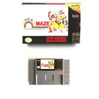 Dream Maze The Kigurumi Adventure for snes game cartridge english translated