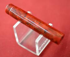 Parker Duofold Centennial 2nd Era Fountain Pen Marbled Red Barrel PART (10941)