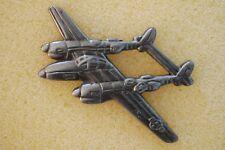 US USA P-38 Lightning Large Military Hat Lapel Pin