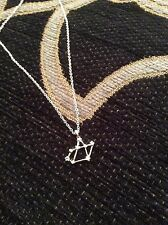 FREE GIFT BAG Silver Plated SAGITTARIUS Zodiac Astrology Necklace Constellation