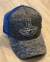 2019 St. Louis Blues Stanley Cup Hat Cap Champions NHL Embroidered Patch Champ'