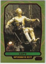 STAR WARS GALACTIC FILES SERIES 2 RED PARALLEL INSERT #514 C-3PO 07/35 RARE