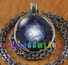 Stargate Portal SG1 Atlantis Fantasy Space Necklace Pendant Jewelry Charm Gift