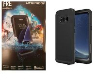 LifeProof FRE Case WaterProof For Samsung Galaxy S8 Plus Black Brand NEW