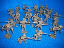 CLASSIC TOY SOLDIERS/MARX Confederates 1/32 Soldiers 22 figures (Butter Nut)