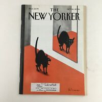 The New Yorker October 30 2006 Full Magazine Theme Cover by Ian Falconer