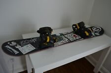 New listing Stepchild Snowboards Jibstick 152 used complete W/ Technine X Jslv Bindings