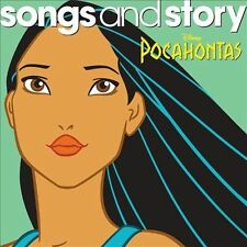 Pocahontas Songs and Story CD by Disney Walt Disney NEW Factory Sealed