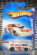Hot Wheels 2009 #072 Pro Stock Firebird WHT,PLASTIC BS